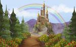 Castle Rose mural