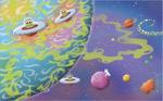 Swamp Planet mural