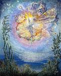 Silken Spells mural