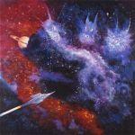 Space Dragons mural