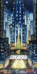 Rockefeller Christmas mural