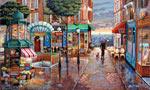 Rainy Day Stroll mural