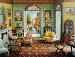 Venetian Interior mural