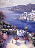 Aegean Vista mural
