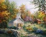 Worship In The Country mural