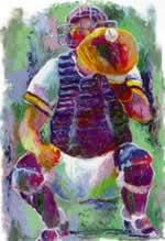 Catcher mural