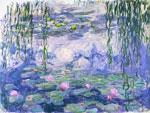 Water Lilies 1916-19 mural