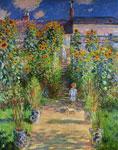 The Artists Garden At Vetheuil mural