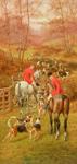 Hunting Scene 1906 mural