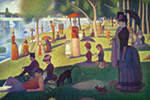 Sunday Afternoon On Island Of La Grande Jatte mural