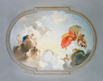 Ceiling Depicting Apotheosis mural