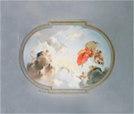 Ceiling Depicting Apotheosis-Full