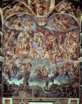 Sistine Chapel The Last Judgement mural