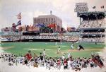 Yankee Stadium NY mural
