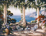 Mediterranean Terrace mural