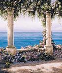 Mediterranean Terrace 2 mural