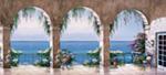Mediterranean Arch 2 mural