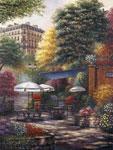 Park Cafe mural