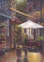Cafe Bandol mural