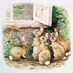 The Flopsy Bunnies At The Window