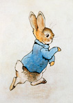 Peter Rabbit Running