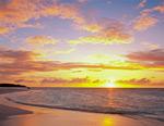 Caribbean Sunset Anguilla mural