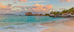 Caribbean Sunrise at Spring Bay mural