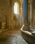 Romanesque Pillars mural