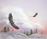 Soaring With Eagles mural