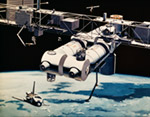 Space Station mural