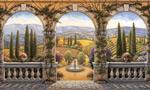 Tuscan Villa mural