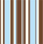 Nesting Stripes mural