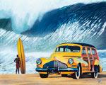 Buttercup Buick mural