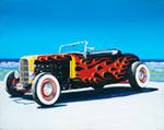 32 Roadster mural