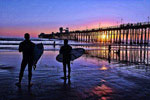 Oceanside Pier - Blue Sunset