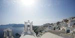 Santorini Church View