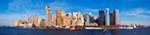 Lower Manhattan From New York Harbor mural