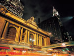 View Of Grand Central Station At Night