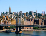 NYC Skyline with Manhattan Bridge