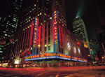 Radio City Music Hall - Night mural