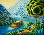 Lazy River mural