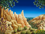Bryce Canyon Russell mural
