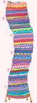 Princess n Pea - Growth Chart mural