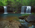Twin Falls on Devils Fork
