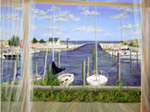 Marina View mural