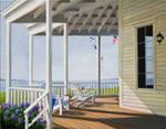 Seaside Porch mural