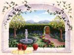 Secret Garden Farris Appel mural