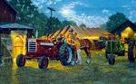 Horsepower mural