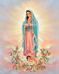 Our Lady Guadalupe mural