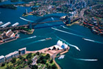 Sydney Harbor Bridge  Opera House mural